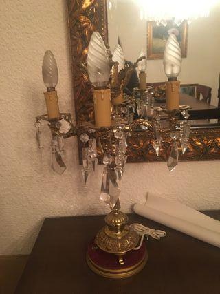 candelabros vintage