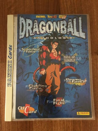 Álbum dragon ball Anthologie completo.