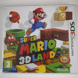 Juego Súper Mario 3DS land Nintendo 3DS