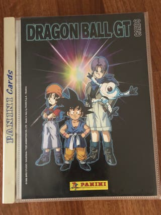 Álbum dragon ball GT1 completo.