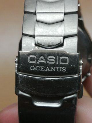 RELOJ CASIO OCEANUS 2716 OC-103