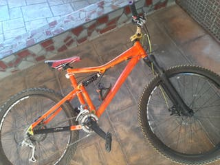 bicicleta descenso (precio negociable)