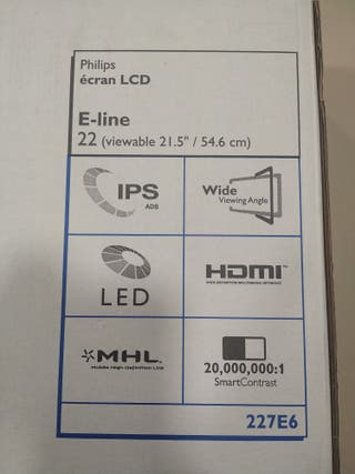 Monitor led 22 pulgadas Philips