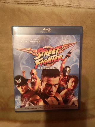 street fighter bluray como nuevo perfecto estado