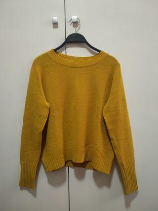 Jersey HyM amarillo talla S