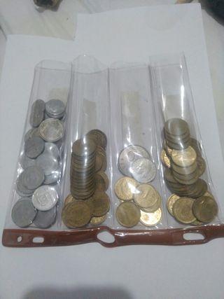 lote 95 monedas de pesetas