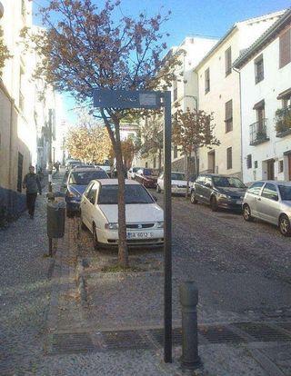 Estudio en alquiler en Albaicín en Granada