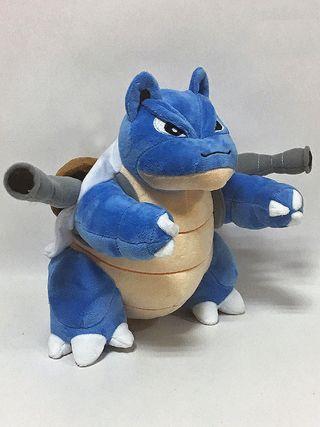 Peluche BLASTOISE Gigante 30cm pokemon figura tcg