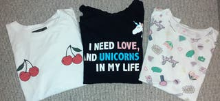 Lote camisetas Talla XS