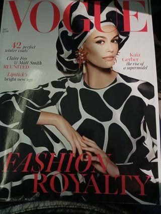 revista Vogue en inglés