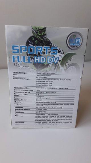 Cámara deportiva Full HD 1080P A ESTRENAR