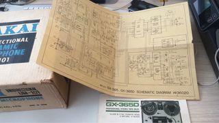 Manual original akai GX 365D