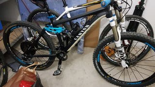 Bicicleta Canyon Nerve AL+ mejorada