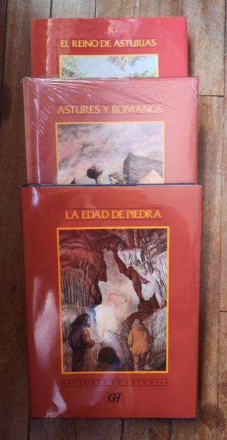 Colección libros Historia de Asturias para niños