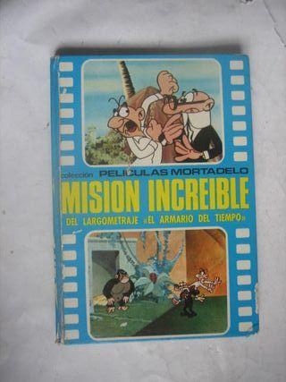 comic Películas Mortadelo Filemón Misión increíble