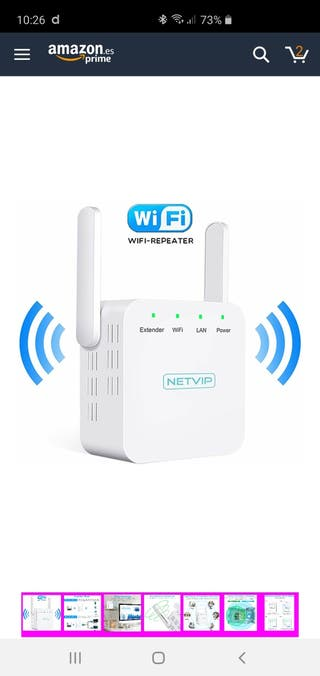 repetidor wifi Amplificador