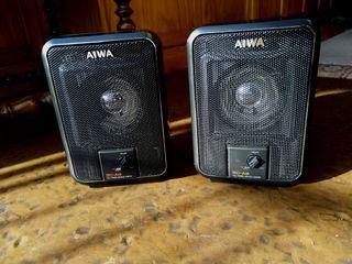 Altavoces portátiles Aiwa SC A9 autoamplificados