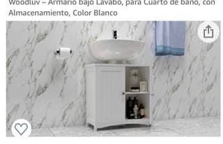 Armario baño súper cómodo de poner