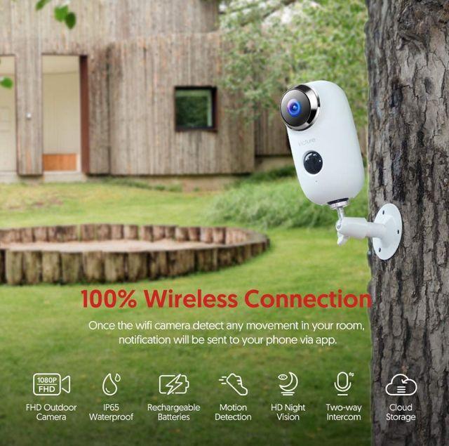 Cámara vigilancia exterior interior Victure 1080P