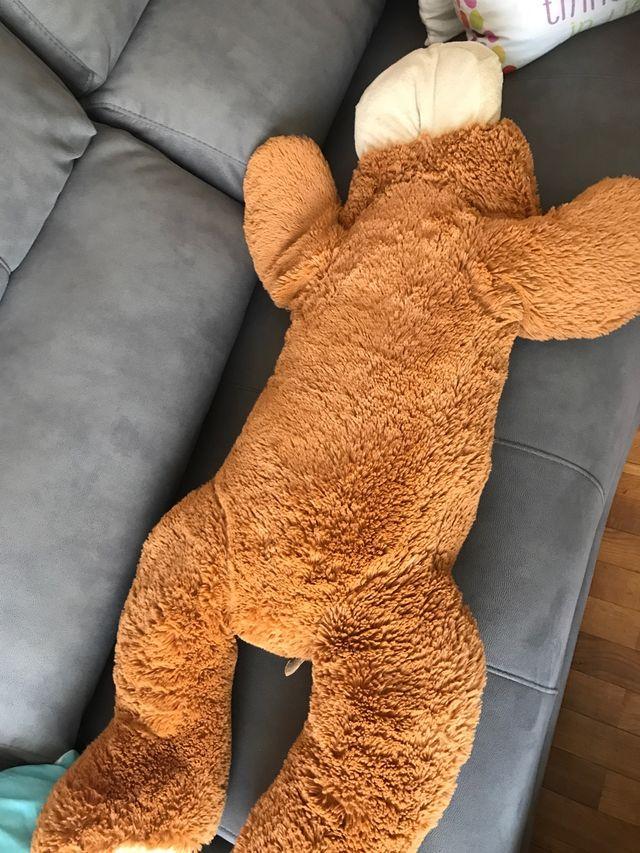 Perro peluche gigante