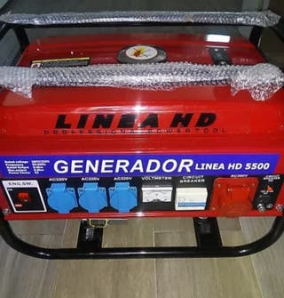 Generador de luz nuevo 5.500w gasolina