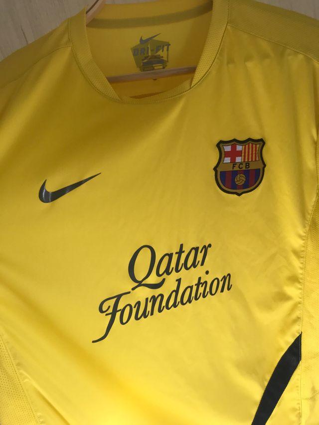 Camiseta Entrenamiento barcelona 2010/11