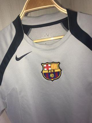 Camiseta entrenamiento barcelona 2005/06