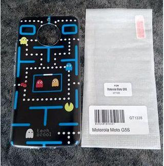 Funda y Cristal Templado Motorola G5S