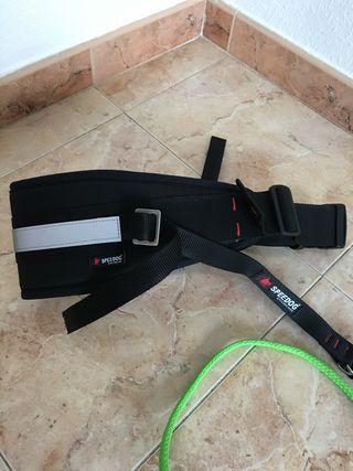 Cinturón canicross y línea de tiro nuevos