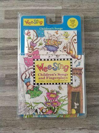 Libro con cd de canciones infantiles en inglés