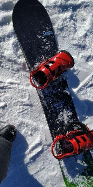 Snowboard Burton Modified Fish 158
