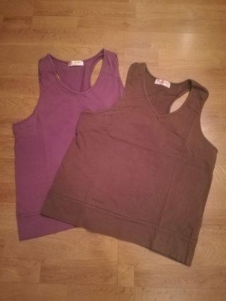 2 Camisetas talla L-XL
