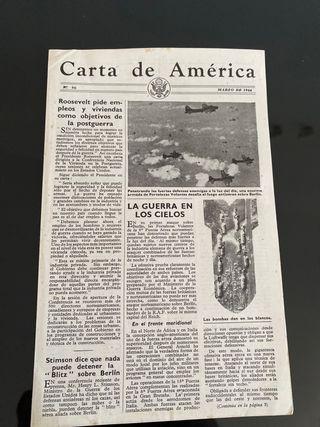 Carta de America