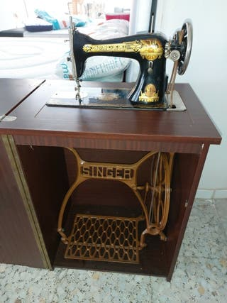 vendo máquina de coser antigua más 50 años de anti