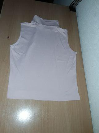 Camiseta tirantes y cuello