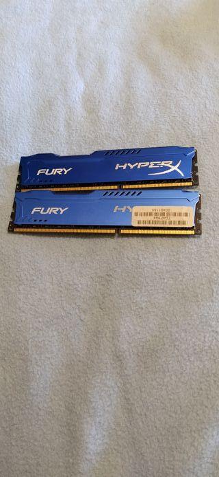 16GB RAM DDR3 (2x8GB)