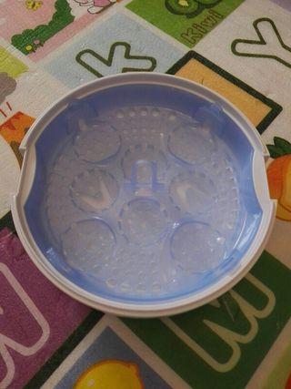 estirilizador biberones microondas philips avent