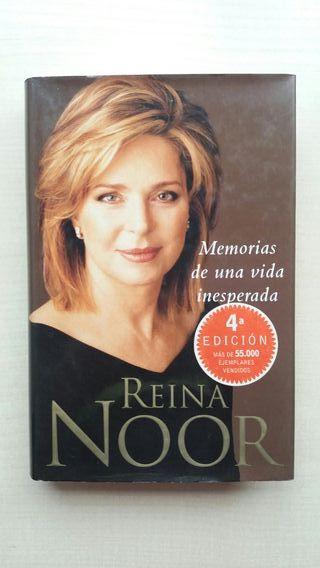 Libro Reina Noor. Memorias de una vida inesperada