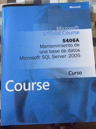 Mantenimiento de una base de datos SQL Server 2005