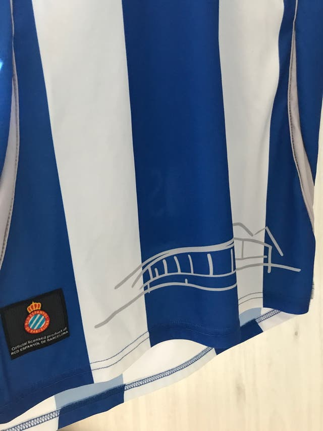 Camiseta rcd espanyol 2010/11