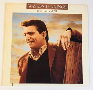 WAYLON JENNINGS Disco Vinilo Lp