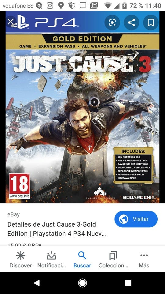 Just Cause 3 mejor juego ps4