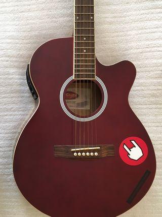 Guitarra Stagg Electroacustica Wine