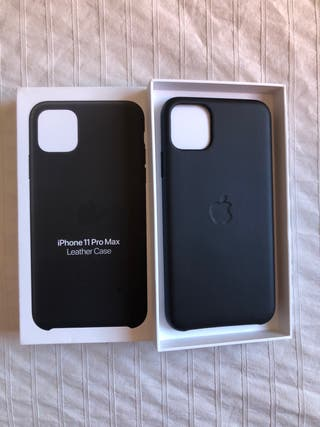 Funda piel iPhone 11 pro Max