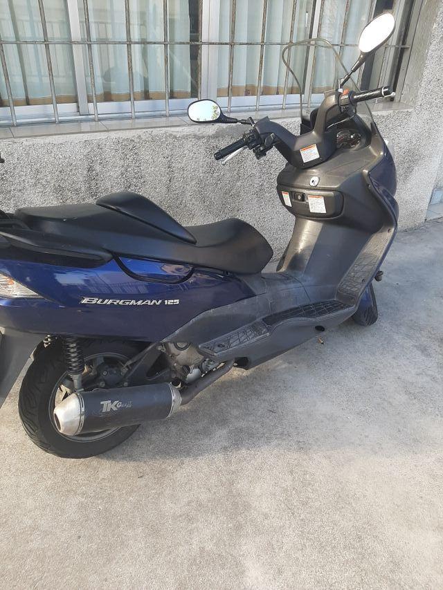 SUZUKI BURGMAN 125 cc / ITV 2022