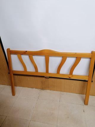 Cabecero de cama de 135 cm