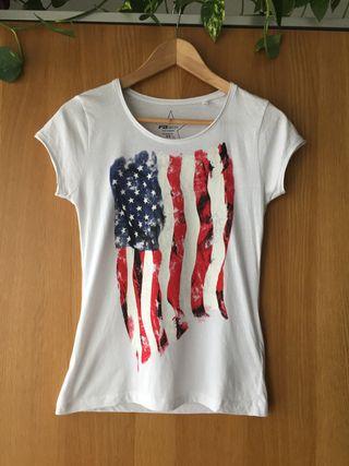 Camiseta chica estampada talla XS