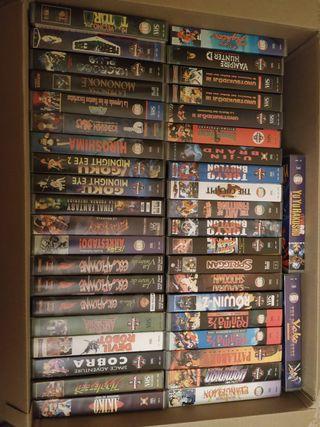 COLECCION MANGA VHS