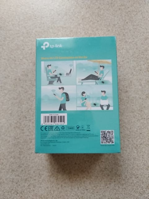TP LINK 4G LTE MOBILE wifi m7200