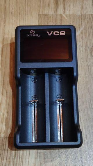 Cargador de pilas, baterías XTar VC2